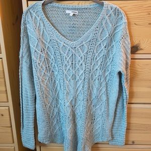 Sonoma Loose Cable Knit Sweater